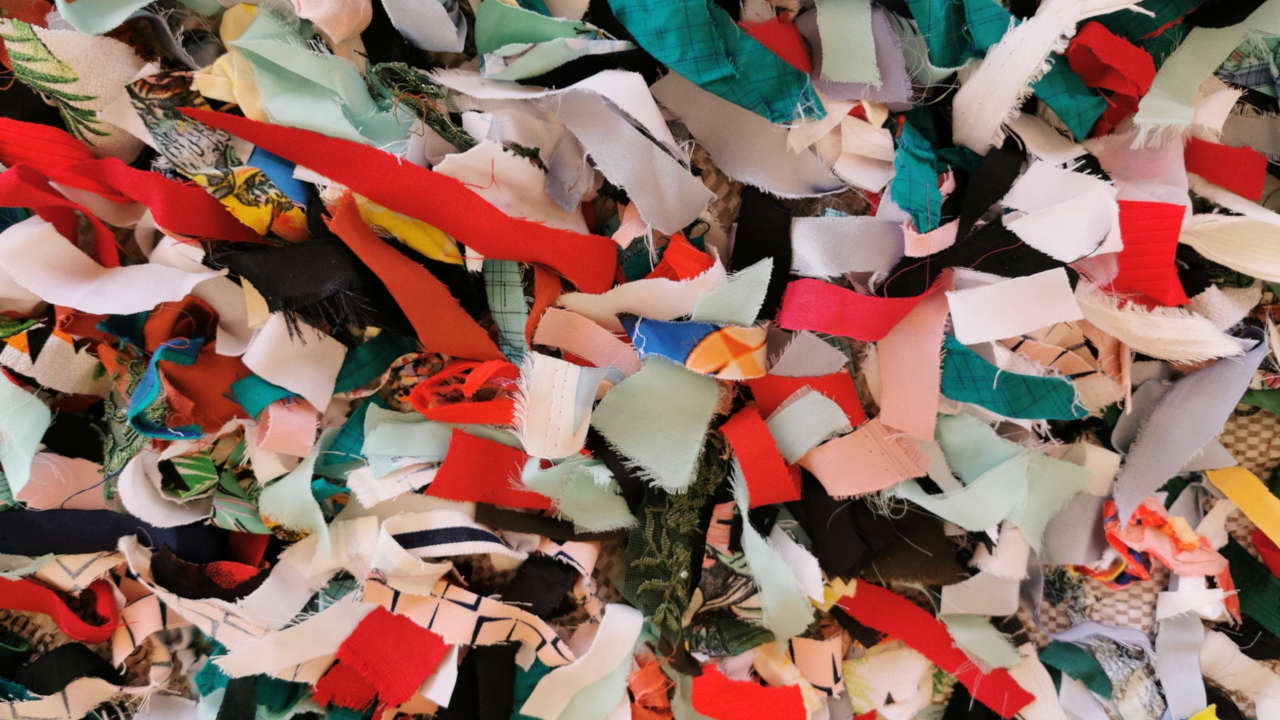 riciclo tessuti